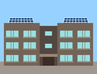 アパート・マンションのイメージ図