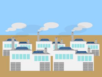工場・倉庫のイメージ図